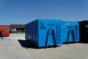 Sammelcontainer, Wertstoffhof, Abrollcontainer, ARC