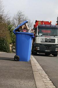 Mülltonnenleerung