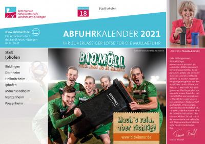 Abfallkalender 2021 Würzburg